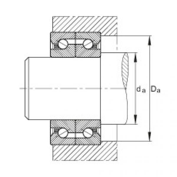Axial angular contact ball bearings - BSB2562-SU #3 image