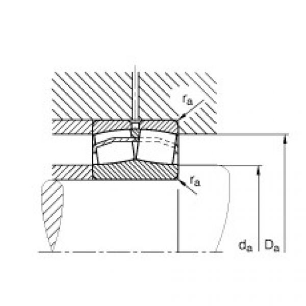 Spherical roller bearings - 22318-E1-XL-T41D #2 image