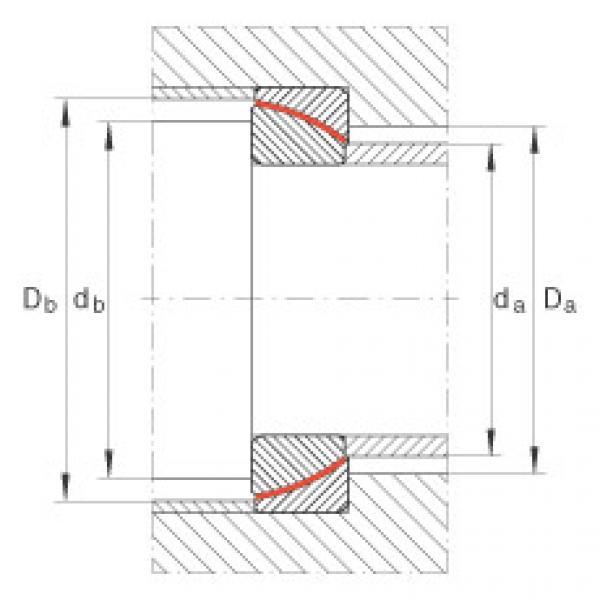 Angular contact spherical plain bearings - GE60-SW #2 image