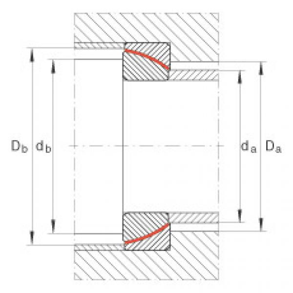 Angular contact spherical plain bearings - GE65-SW #2 image