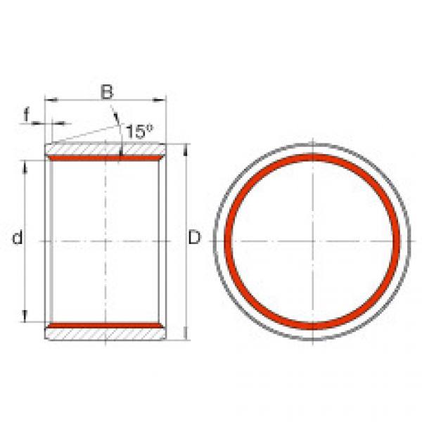 Cylindrical plain bushes - ZGB70X80X70 #1 image