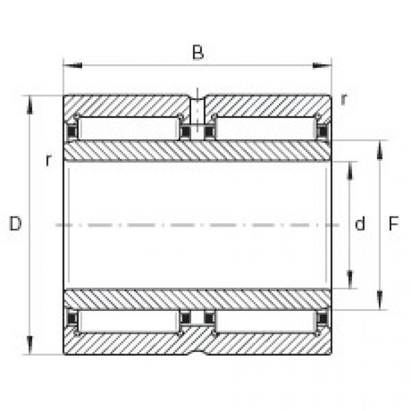 Needle roller bearings - NA6918-ZW-XL #1 image
