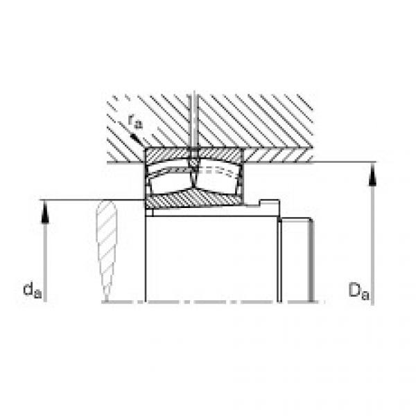 Spherical roller bearings - 22216-E1-XL-K + AH316 #2 image