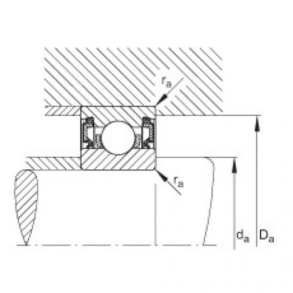 Deep groove ball bearings - 61913-2RZ #2 image