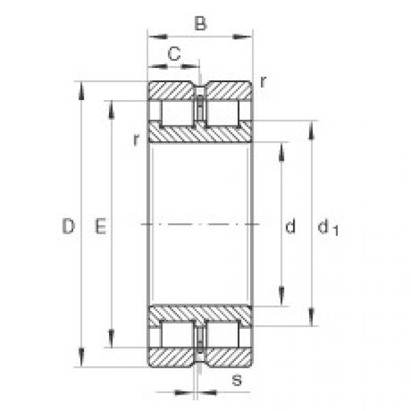 Cylindrical roller bearings - SL024880 #1 image