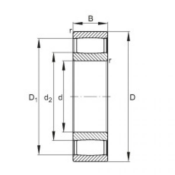 Toroidal roller bearings - C2213-XL-V #1 image