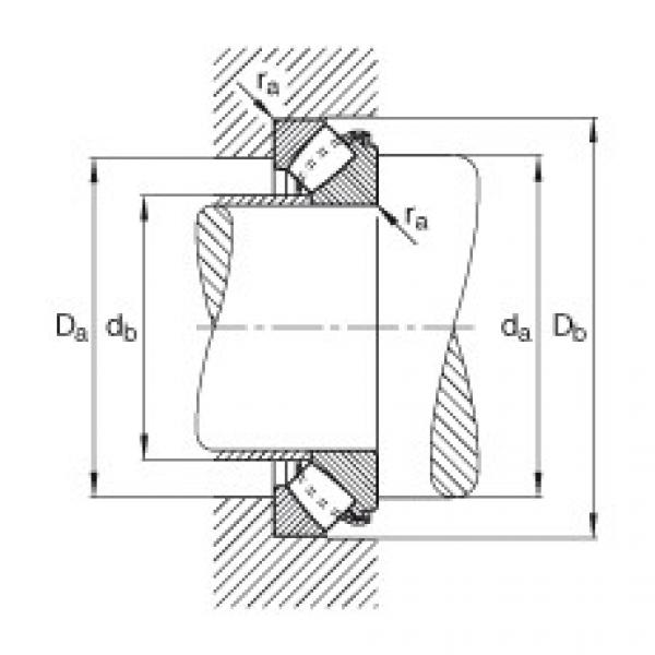 Axial spherical roller bearings - 29456-E1-XL #2 image