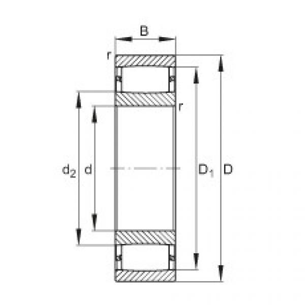 Toroidal roller bearings - C3092-XL-M #1 image
