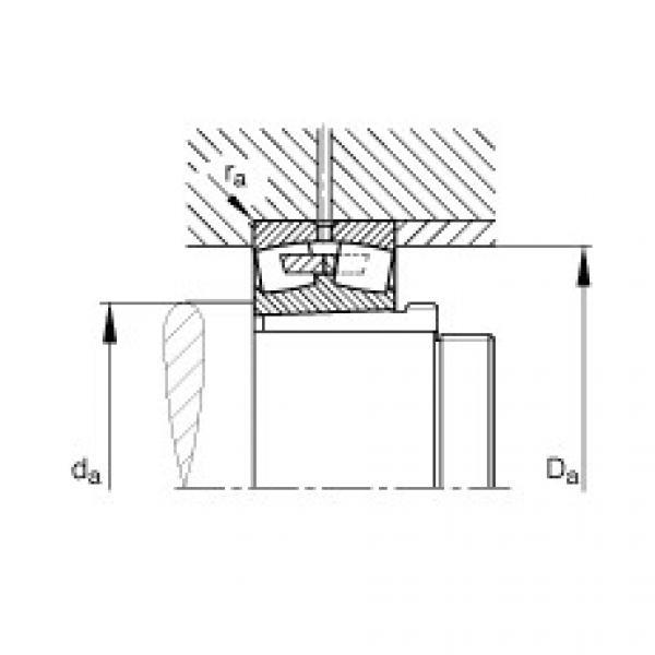 Spherical roller bearings - 241/670-B-K30-MB + AH241/670-H #2 image