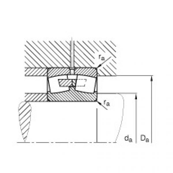 Spherical roller bearings - 249/710-B-MB #2 image