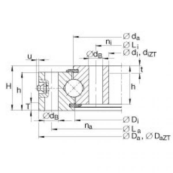 Four point contact bearings - VU140325 #1 image