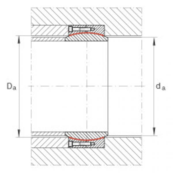 Large radial spherical plain bearings - GE670-DW #2 image