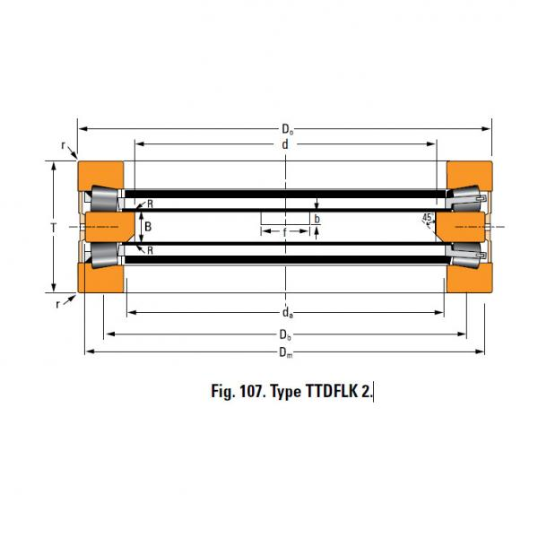 Bearing T9130FW Thrust Race Double #4 image