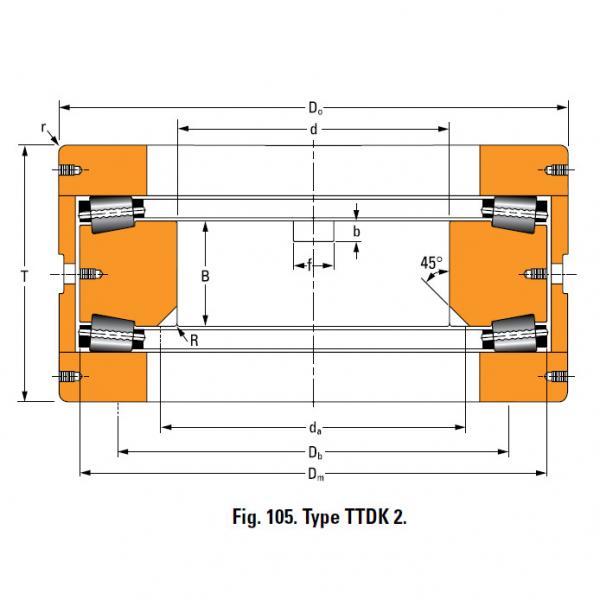 Bearing 13200F Thrust Race Single #2 image