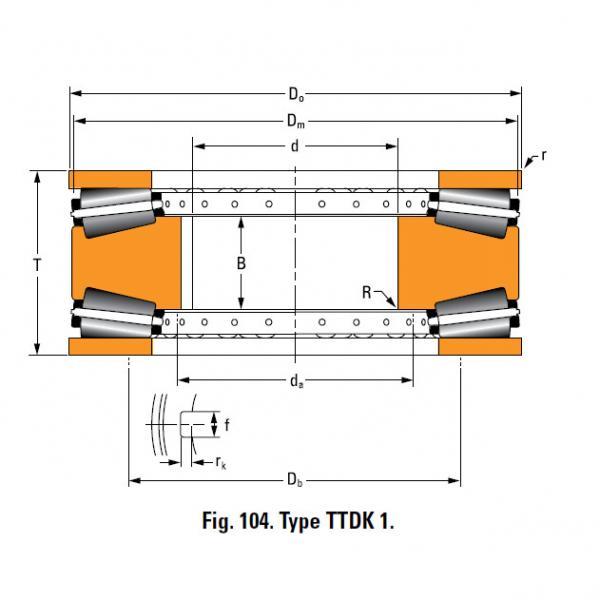 Bearing T8110 Thrust Race Single #5 image