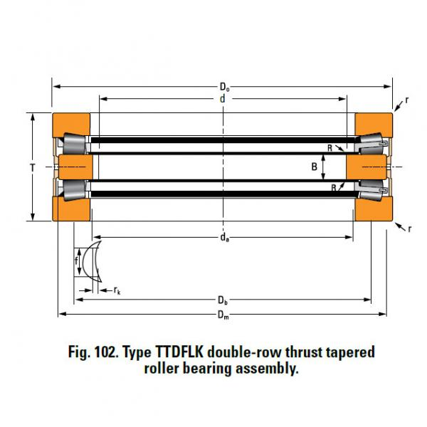 Bearing A6881A Thrust Race Double #3 image