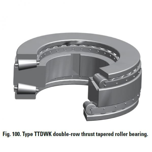 Bearing T9130FW Thrust Race Double #2 image