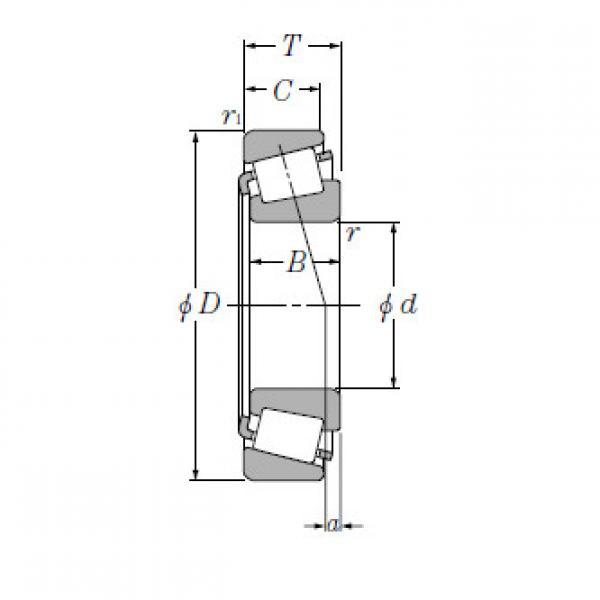 Bearing T-HH231637/HH231615 #1 image
