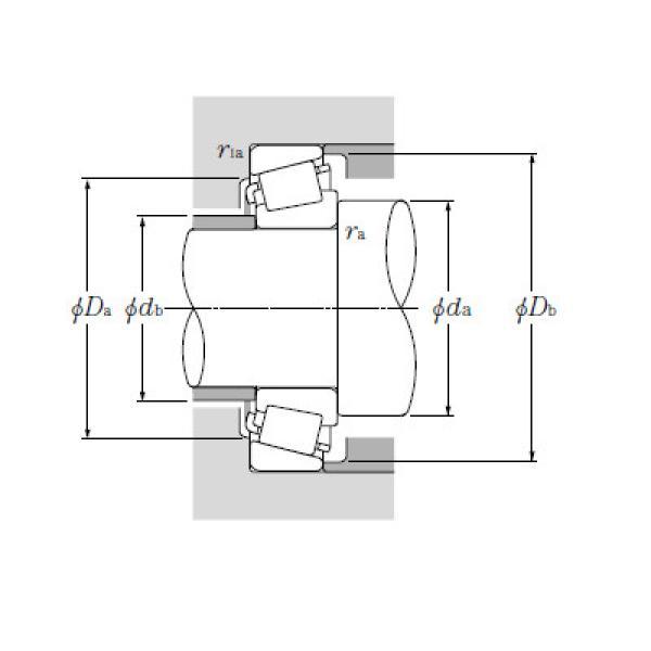 Bearing T-HM266448/HM266410 #1 image