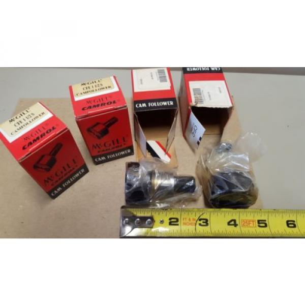LOT OF 4, McGILL New Cam Followers, CFE 1-1/2S, New In Box #2 image