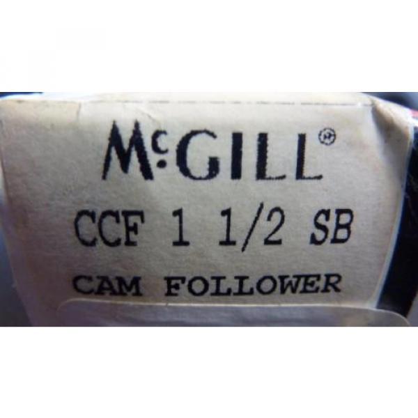 MCGILL CCF 1 1/2 SB Cam Follower Bearing #3 image