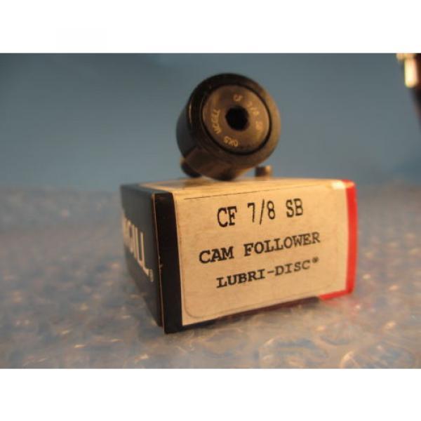 McGill CF 7/8SB, CF7/8SB, CF 7/8 SB, CAMROL® Standard Stud Cam Follower #1 image