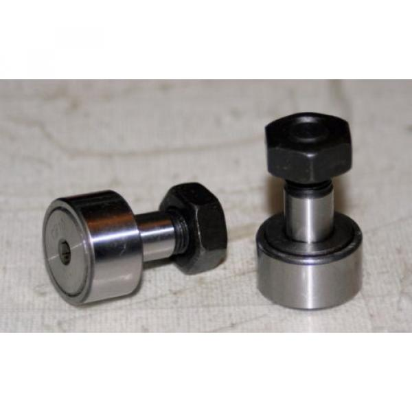 (2 Lot) Cam Follower Roller Bearing KR22 (CF10) 10MM-1.25 thread #1 image