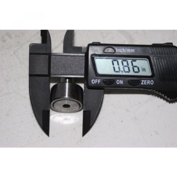 (2 Lot) Cam Follower Roller Bearing KR22 (CF10) 10MM-1.25 thread #4 image