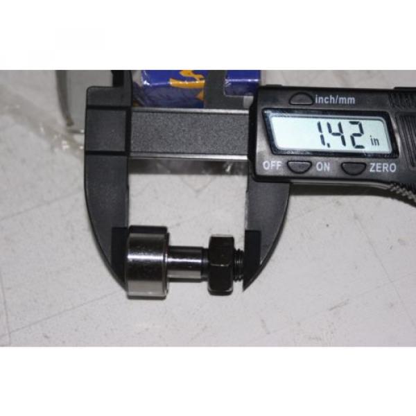 (2 Lot) Cam Follower Roller Bearing KR22 (CF10) 10MM-1.25 thread #5 image