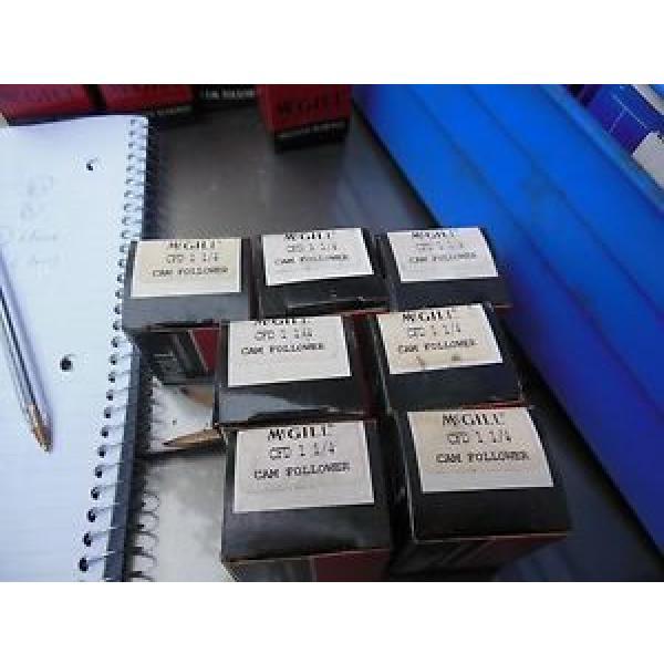 McGill CFD 1 1/4 cam followers  quantity 7 #1 image