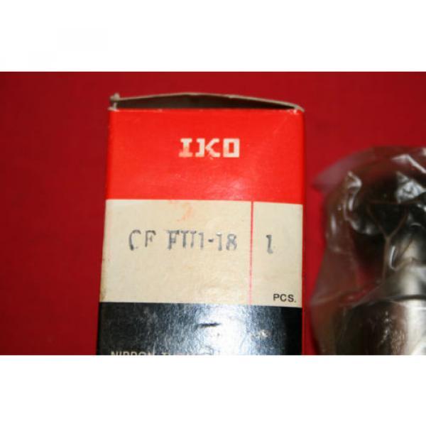 NEW IKO Nippon Thompson Cam Follower Bearing CF FU1-18 CFFU118 - BNIB #2 image