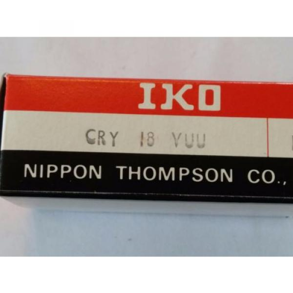 CRY18VUU IKO CAM FOLLOWER YOKE TYPE #3 image