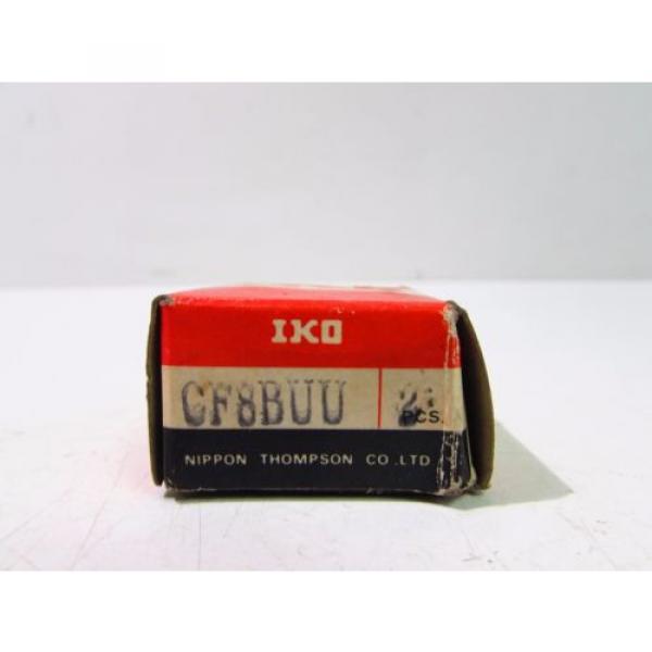 IKO CF8BUU ROLLER BEARING CAM FOLLOWERS (2PK) **NIB** #2 image