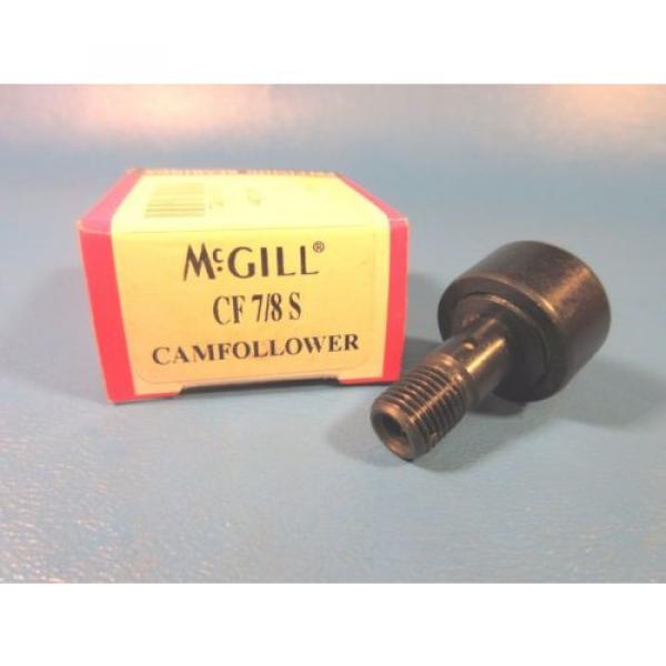 McGill CF 7/8S Standard Stud Cam Follower (Torrington, Timken, INA,THK, IKO) #1 image