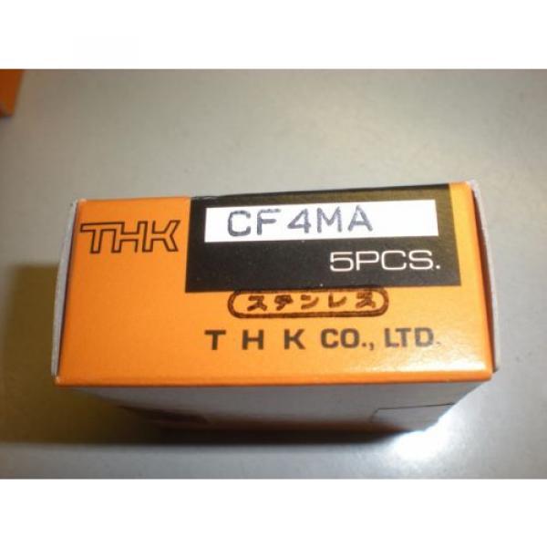 Lot of (5) THK Model CF4MA Cam Follower Bearings - NIB #3 image