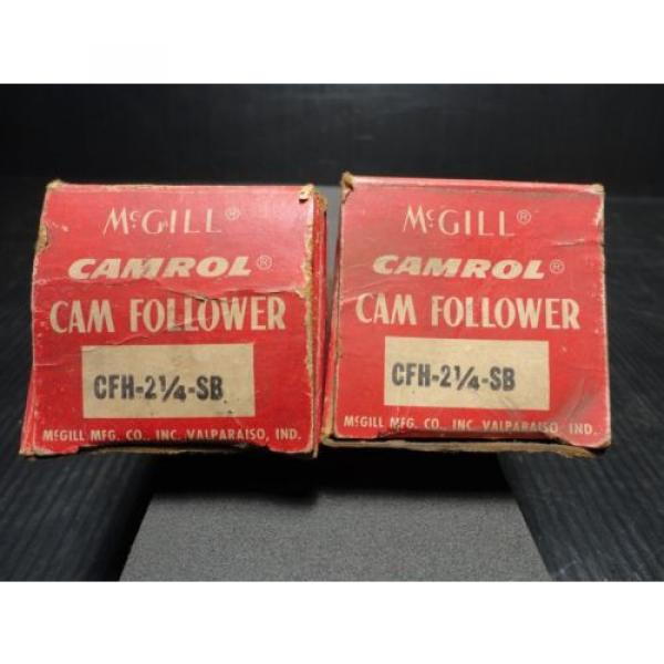 "*NEW*McGill CFH 2 1/4"" SB Flat Cam Follower #1 image"