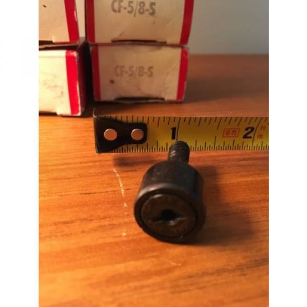LOT OF 4EA. NIB McGILL  CAM FOLLOWERS  CF-5/8-S #4 image