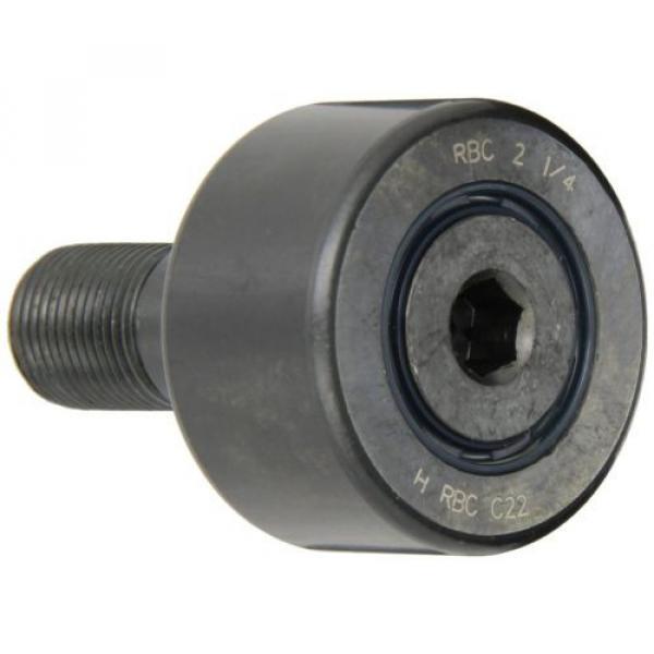 "RBC Cam Follower RBC21/4 2.250"" Outside Diameter Stud RBC Roller Cylindrical NEW #1 image"