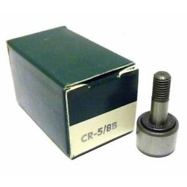 "NEW ACCURATE BUSHING CO. CR-5/8B CAM FOLLOWER 5/8"" DIAMETER #1 image"