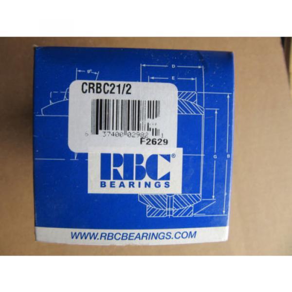RBC Bearings CRBC21/2 Cam Follower CRBC2-1/2 NEW!!! in Box Free Shipping #1 image