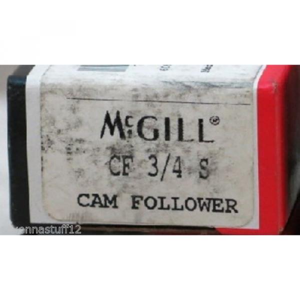 MCGILL CF 3/4 S CAM FOLLOWER BEARINGS (NEW IN BOX) #1 image