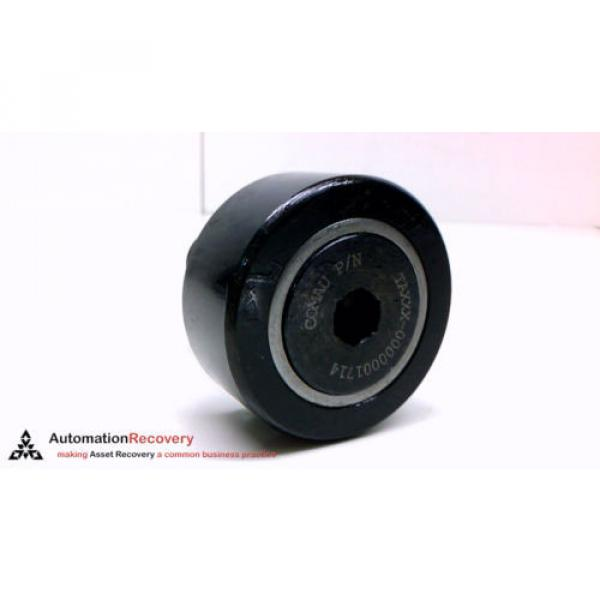 SMITH BEARING NUKR-52-A-3 CROWNED CAM FOLLOWER 52MM 4200 RPM, NEW #2 image