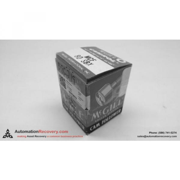 MCGILL MCF 80 SBX CAM FOLLOWER BEARING, NEW #113670 #1 image
