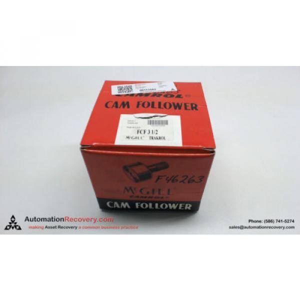 MCGILL FCF 3 1/2 PAT NO. 4043620 CAM FOLLOWER, NEW #113542 #1 image