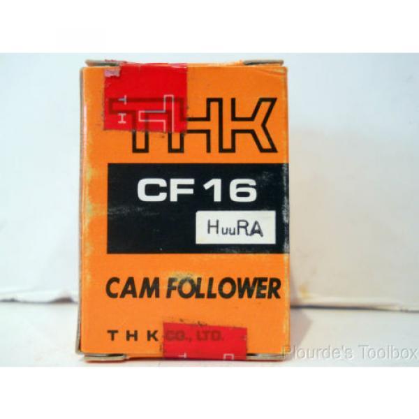 New THK Co. Cam Follower Bearing, 35mm Dia, 52mm Length, CF16 HuuRA #2 image