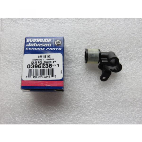 H1C New OMC Johnson Evinrude 0396236 Cam Follower Roller OEM Factory Outboard #1 image