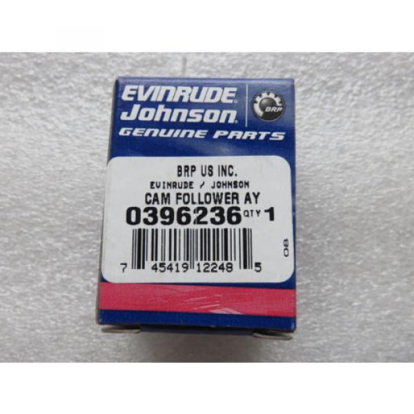 H1C New OMC Johnson Evinrude 0396236 Cam Follower Roller OEM Factory Outboard #5 image
