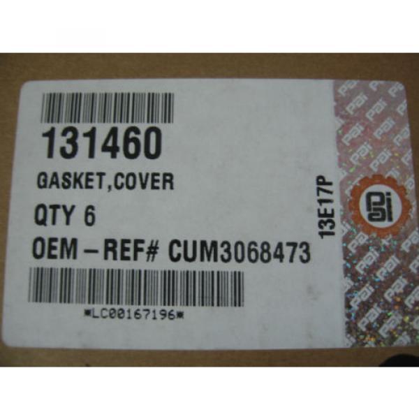 Cummins N14 Cam Follower Cover Gaskets Qty. 6 PAI PN 131460 Ref# 3068473 3062353 #2 image