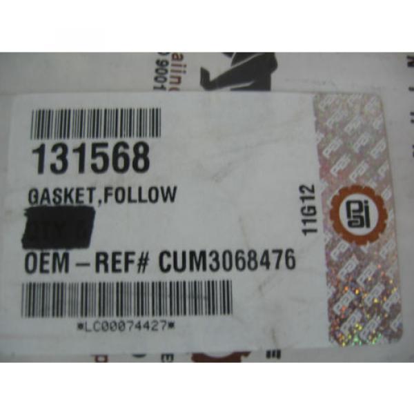N14 Cam Follower Beaded Gasket Qty. 1 P/N 131568 Ref. # Cummins 3068476, 3041503 #2 image