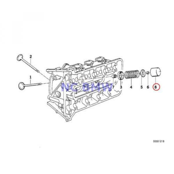 BMW Genuine Motorcycle Timing Gear Cam Follower 2.65MM 89V1 89V2 89V3 K41 #2 image